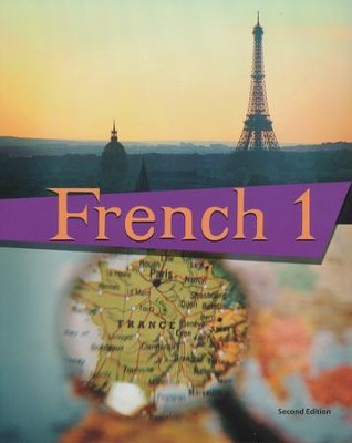 BJU French 1 Student Text, Second Edition    -