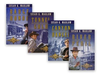Goldtown Adventures, Volumes 1-4  -     By: Susan K. Marlow