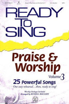 Ready to Sing Praise & Worship, Volume 3   -