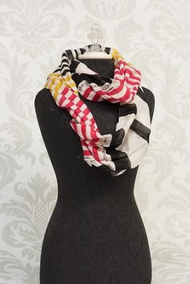 Faith, Hope, Love Scarf Infinity Scarf  -