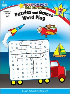 Puzzles and Games Word Play Grades K-1  -