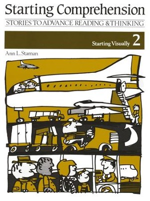 Starting Comprehension Visually Book 2, Grades K-1   -     By: Ann Staman
