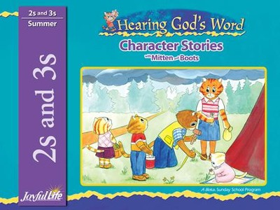 Hearing God's Word (ages 2 & 3) Character Stories   -