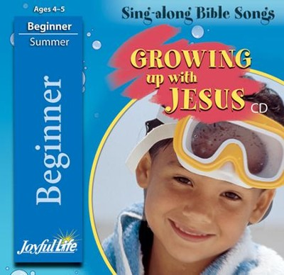 Growing Up with Jesus Beginner (ages 4 & 5) Audio CD   -