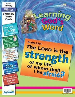 Learning God's Word Primary (Grades 1-2) Memory Verse Visuals  -