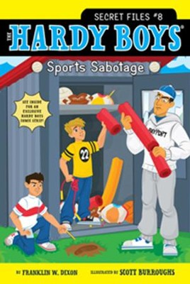 Sports Sabotage - eBook  -     By: Franklin W. Dixon