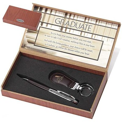 Graduate Pen and Keyring Set  -