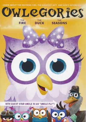 Owlegories Vol. 3: The Fire, The Duck, The Seasons DVD   -