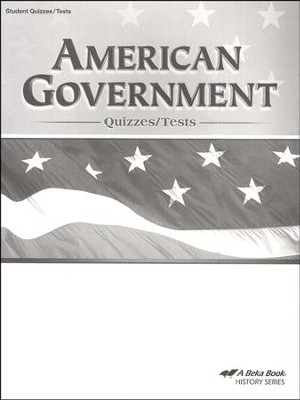 Abeka American Government Quizzes/Tests   -