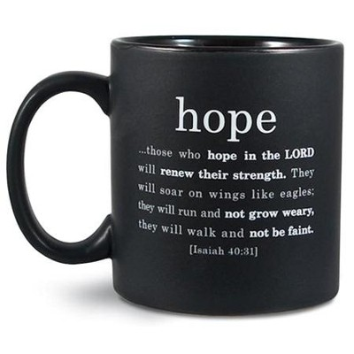 Hope Basic Faith Ceramic Mug  -