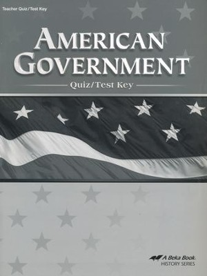 Abeka American Government Quiz/Test Key   -