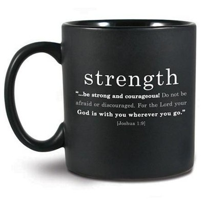 Strength Basic Faith Ceramic Mug   -