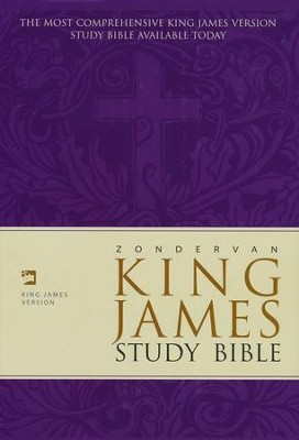 KJV Zondervan Study Bible, Hardcover, Slightly Imperfect   -