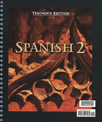 BJU Spanish 2 Teacher's Edition (Second Edition)    -