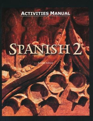 BJU Spanish 2, Student Activities Manual (Second Edition)    -