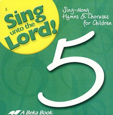 Abeka Sing unto the Lord! Grade 5 Audio CDs (set of 2)   -