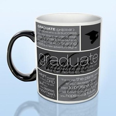 Graduate Word Collage - Ceramic Mug      -