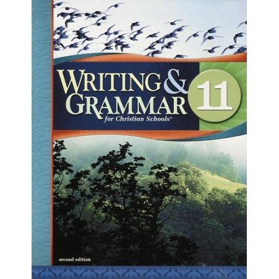 BJU Writing & Grammar Grade 11 Student Worktext Revised    -