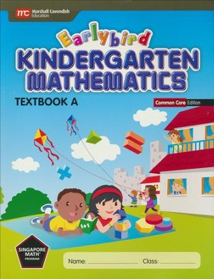 Earlybird Kindergarten Math Common Core Edition Textbook A  -