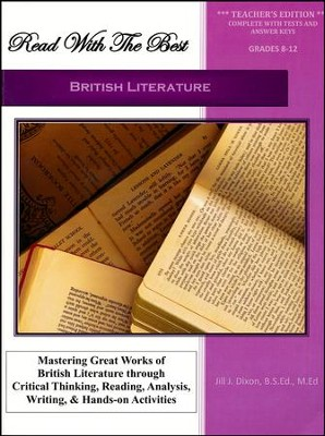Read With the Best: British Literature Teacher's  Edition  -     By: Jill J. Dixon