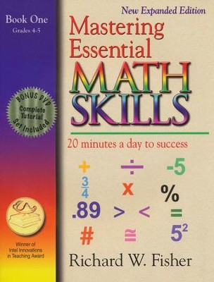Mastering Essential Math Skills: Book One New Expanded Edition with DVD  -     By: Richard W. Fisher