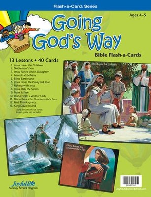 Going God's Way Beginner (ages 4 & 5) Bible Stories   -