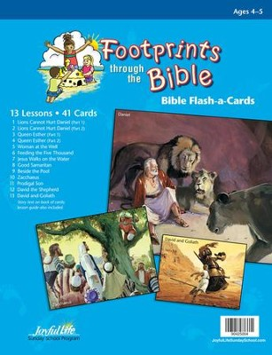 Footprints through the Bible Beginner (ages 4 & 5) Bible Stories  -