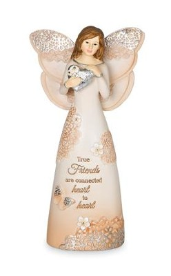 True Friends, Angel Figurine  -