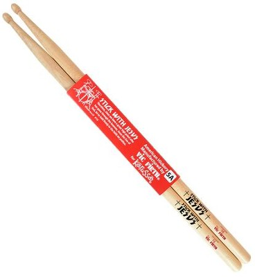 Stick With Jesus Hickory Drum Sticks, Natural  -