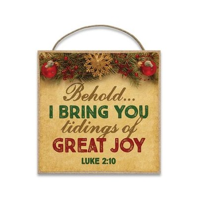 Behold... I Bring You Tidings of Great Joy Magnet  -
