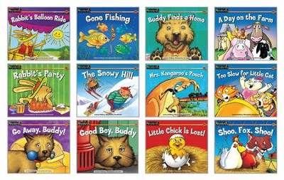 Rising Readers Fiction Set: Animal Adventures (set of 12 titles)  -
