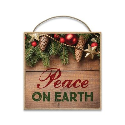 Peace on Earth Magnet  -