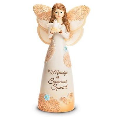 In Memory Of Someone Special Angel Figurine  -