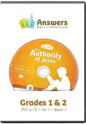 Answers Bible Curriculum Year 3 Quarter 2 Grades 1-2 Teacher Kit on CD-ROM  -
