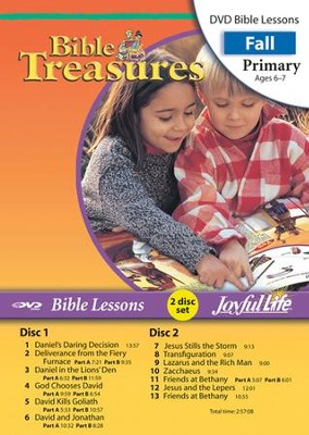 Bible Treasures Primary (Grades 1-2) Bible Lesson DVD   -