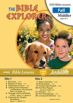 Bible Explorer Middler (Grades 3-4) Bible Lesson DVD   -