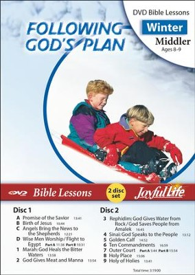 Following God's Plan Middler (Grades 3-4) Bible Lesson DVD  -