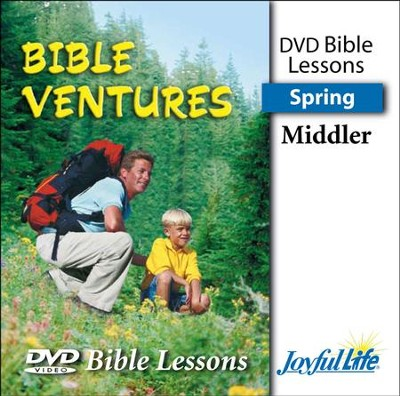 Bible Ventures Middler (grades 3-4) Bible Lesson DVD (Spring Quarter)  -