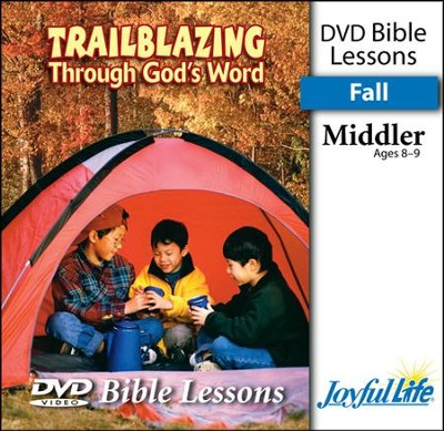 Trailblazing through God's Word Middler (Grades 3-4) Bible Lesson DVD  -