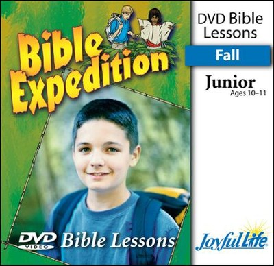 Bible Expedition Junior (Grades 5-6) Bible Lesson DVD   -