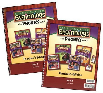 BJU K5 Beginnings Teacher's Edition, Third Edition   -