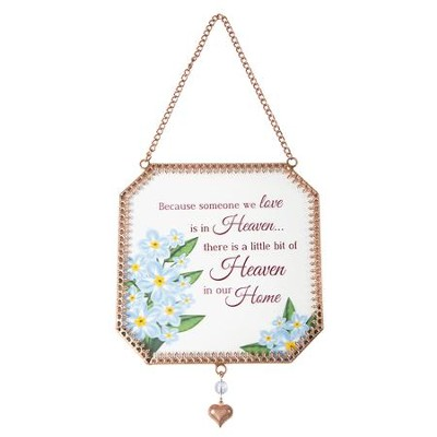 Heaven in Our Home Suncatcher  -
