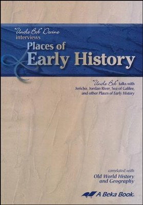 Abeka Places of Early History with Uncle Bob (Bible  Geography) Audio CD  -