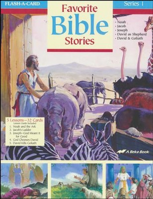 Extra Favorite Bible Stories 1 Lesson Guide   -