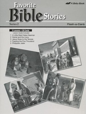Extra Favorite Bible Stories Series 2 Lesson Guide   -