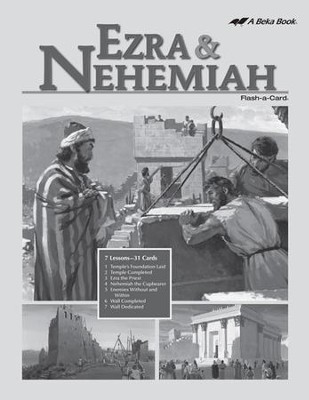 Extra Ezra and Nehemiah Bible Story Lesson Guide   -