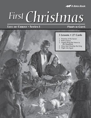 Extra First Christmas Bible Story Lesson Guide   -