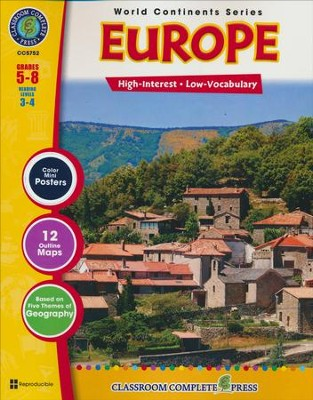 Europe Grades 5-8  -     By: Irene Evanelelis, David McAleese