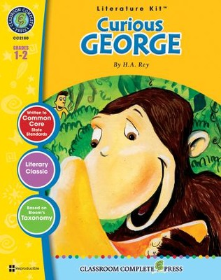 Curious George (H.A. Rey) Literature Kit  -     By: Marie-Hellen Goyetche