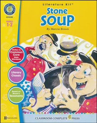 Stone Soup (Marcia Brown) Literature Kit  -     By: Marie-Hellen Goyetche